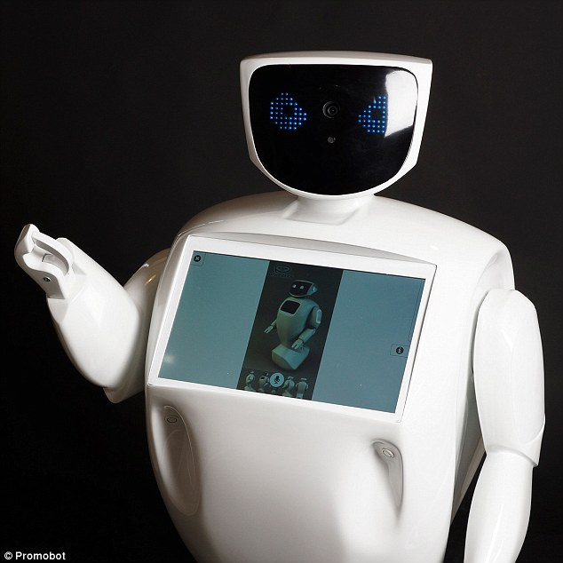 promobot Promobot Promobot, robotul rusesc recidivist promobot
