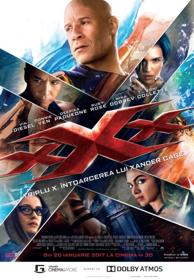 filmul filmul Cine? Filmul! xxx the return of xander cage   baneasa
