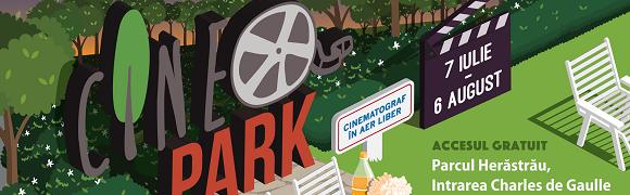 Citești și vezi filme în aer liber la București CinePark 2017 creart