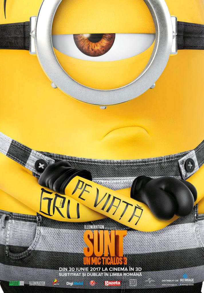 Despicable Me 3 este pe primul loc în box-office-ul american Despicable me