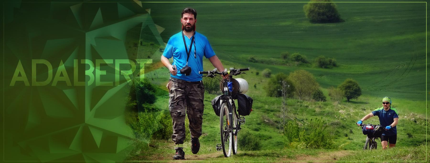 """sport ciclism bicicleta muzica Alexandru Butnariu a găsit echilibrul între sport, adrenalină și """"hippioțeală"""" DpD cover"""