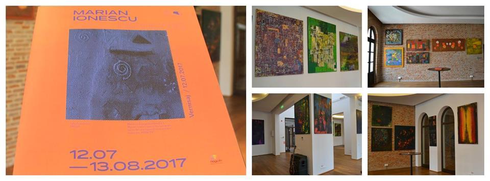 Marian Ionescu de la Direcția 5 are expoziție de pictură Hipnotic