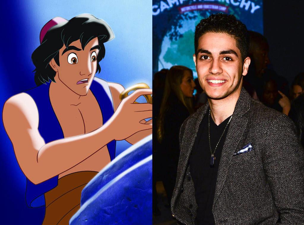 """Distribuția filmului """"Aladdin"""" a stârnit controverse Mena Masoud"""