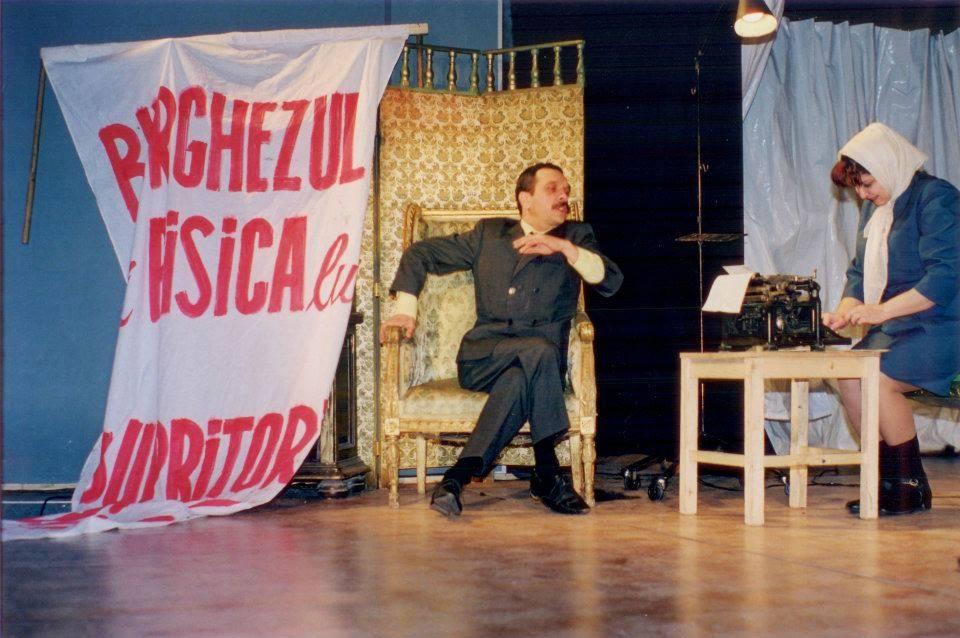 Nuami Dinescu sau ce înseamnă să fii OM Nuami Dinescu si Radu Gabriel