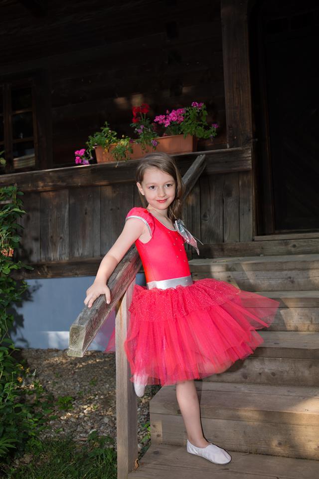 Rebecca Stoica, fetița pasionată de cunoaștere Rebecca 2