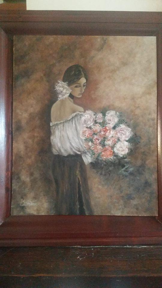 Irina Crișan, o poveste despre talentul moștenit Tablou Irina Crisan 3