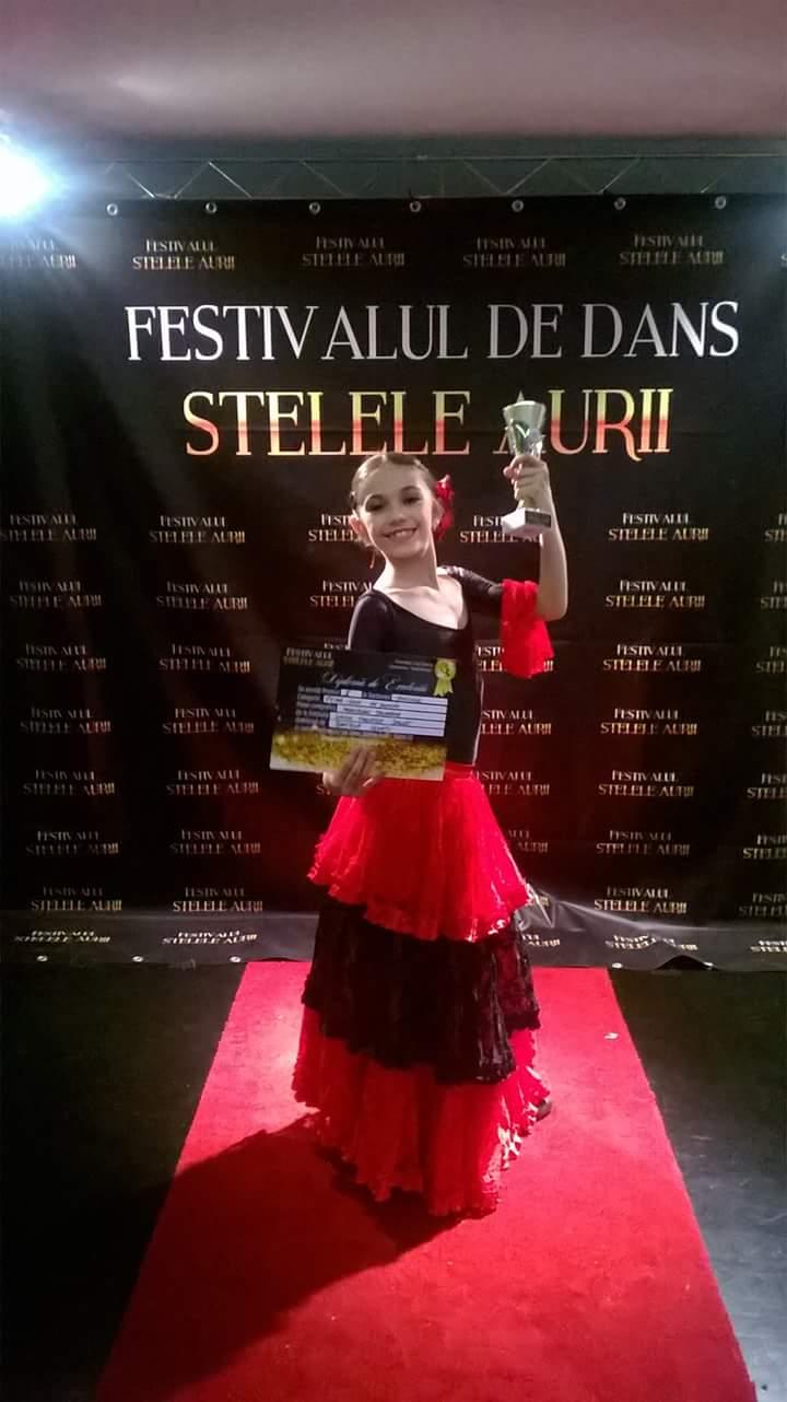 Caterina Casaburi strălucește pe scenele lumii balet
