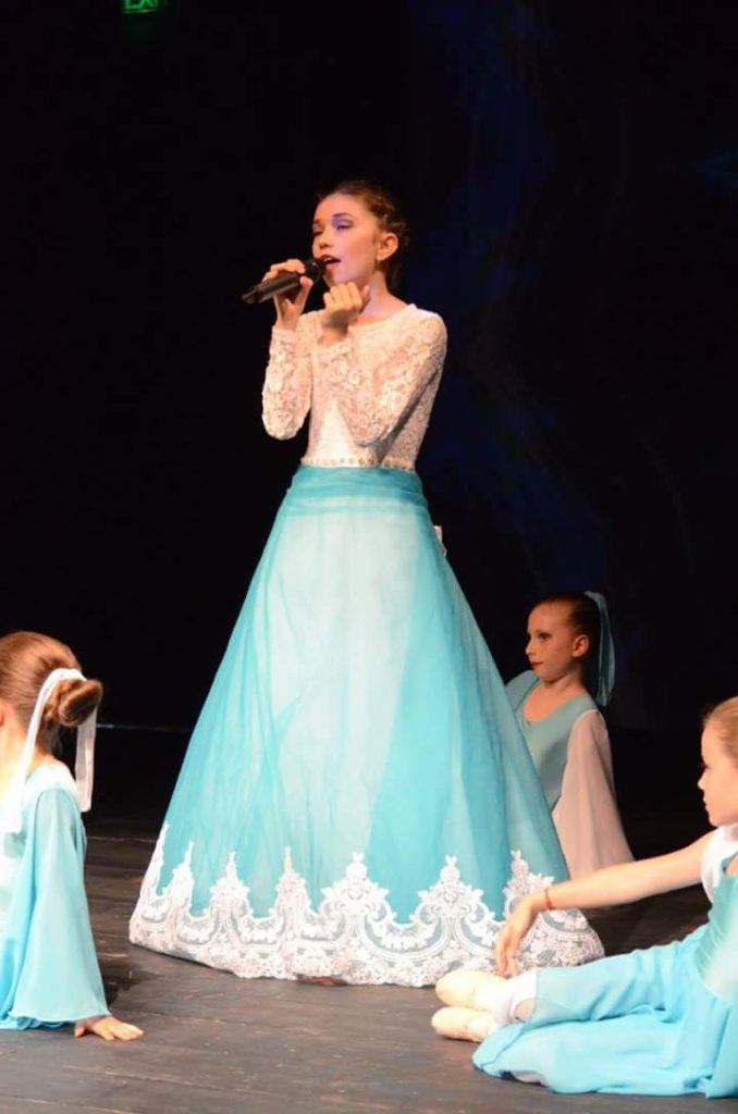 Caterina Casaburi strălucește pe scenele lumii canto 4