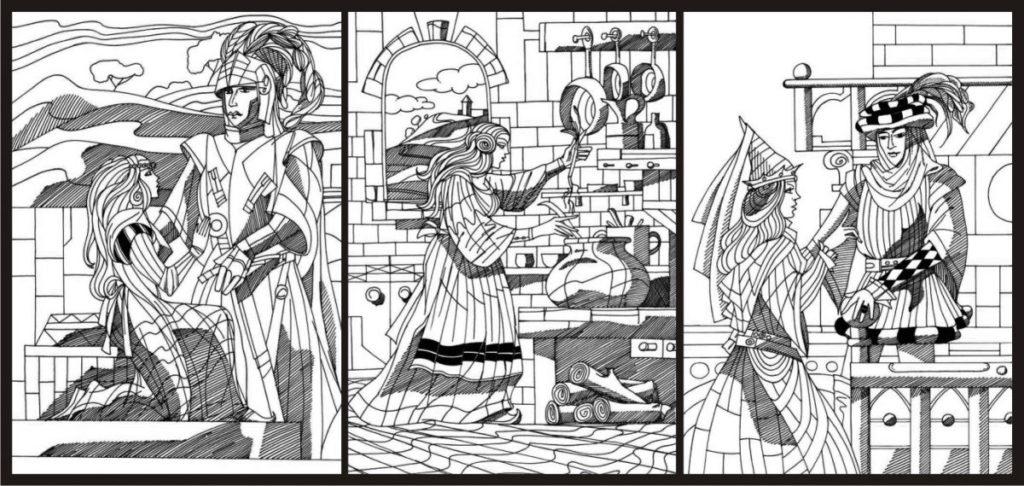 Cătălin Magdalinis este artist prin definiție ilustratii povesti ch perrault