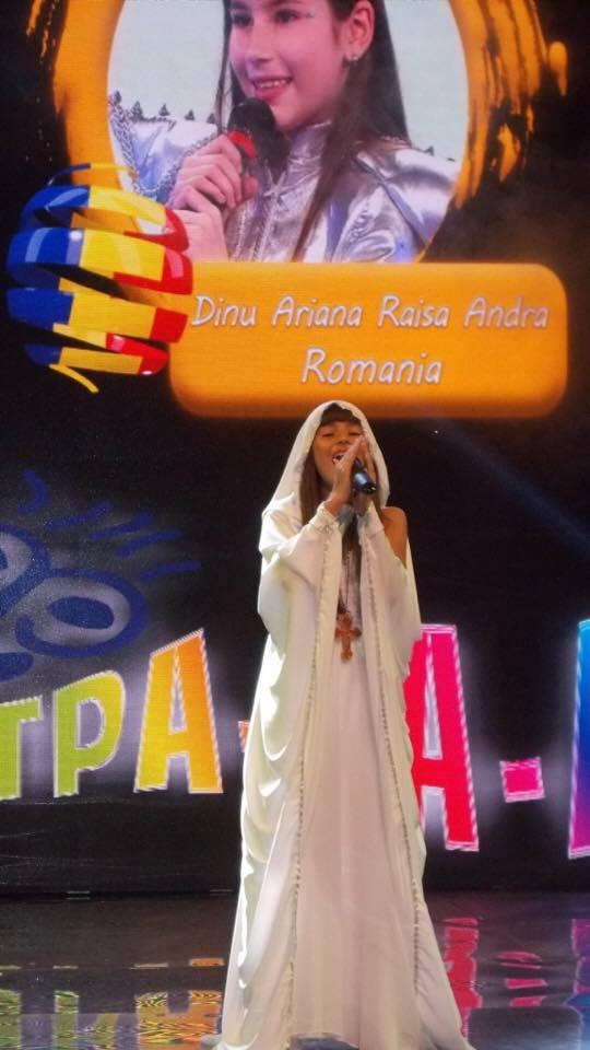 Andra Raisa Dinu, născută să fie stea pe scenă Andra Raisa Romania