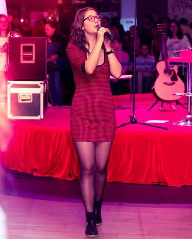Andreea Ana Mihai, liceana premiantă și pasionată de muzică Andreea la spectacol