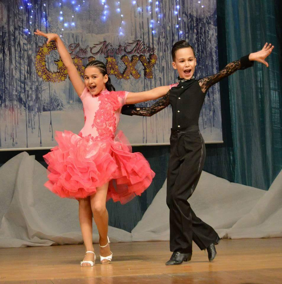 Andrei Ciobanu, micul mare dansator Andrei si Daria