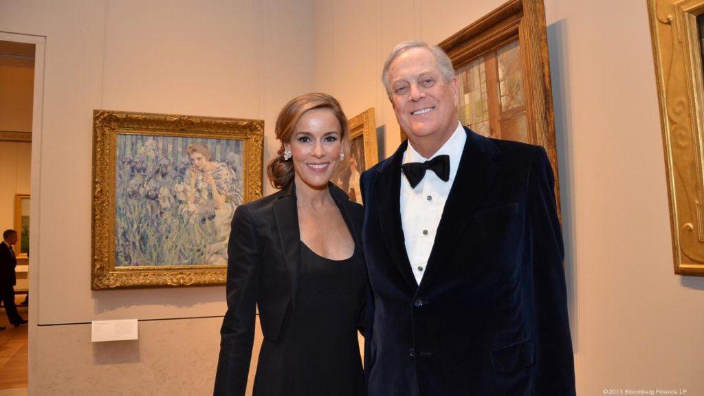 Cei mai bogați oameni ai planetei și partenerele lor David si Julia Koch
