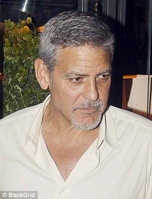 George Clooney, un tătic cam obosit George Clooney