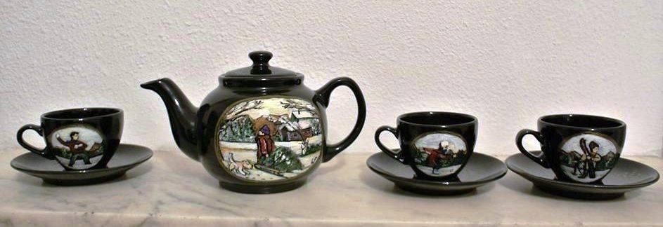 Cristi Martin, un suflet de artist polivalent Set de ceai