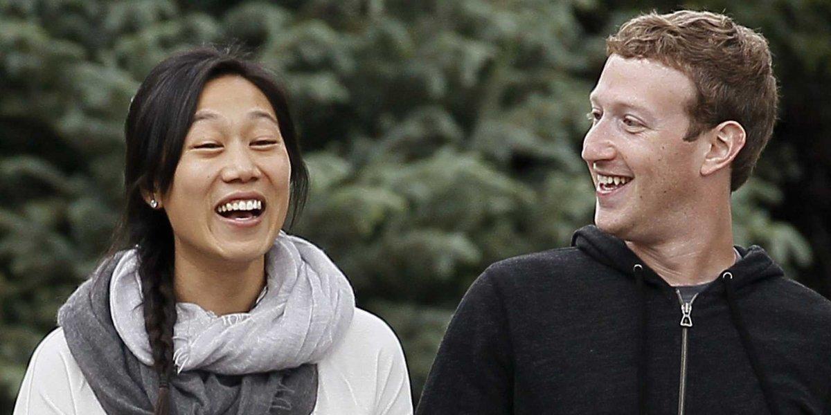 Cei mai bogați oameni ai planetei și partenerele lor Zuckerberg si Chan