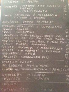 Grano, scumpa gastronomie italiană Meniu Grano