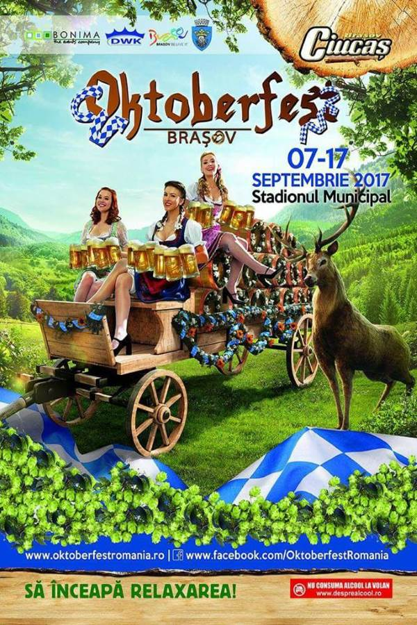 Începe Oktoberfest 2017 la Brașov oktoberfest brasov 2017