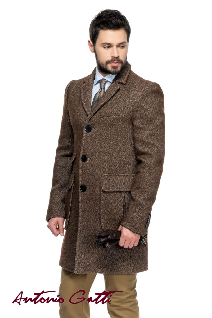 Vestimentatia ta conteaza, alege sa impresionezi cu Antonio Gatti palton