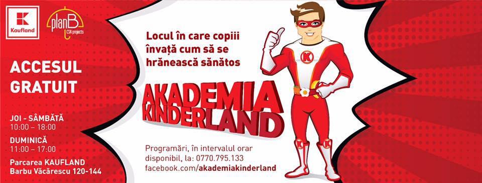 Akademia Kinderland și-a deschis porțile pentru copii Academia Kinderland cover
