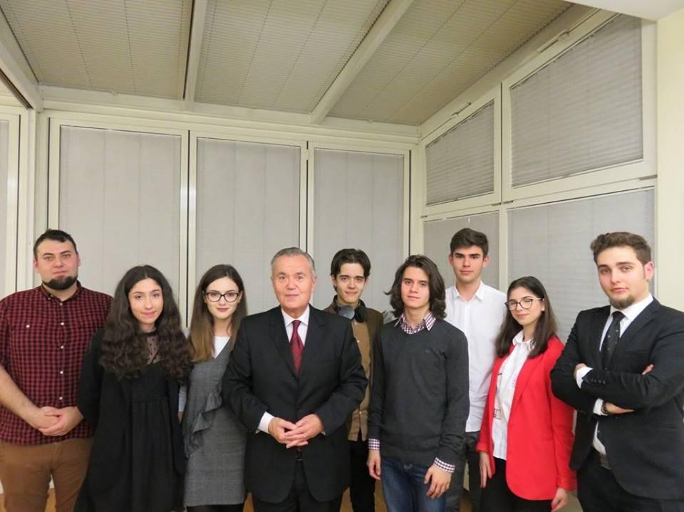 Darius Iordăchioae-Nouri sau pasiunea de a fi debater Croatia