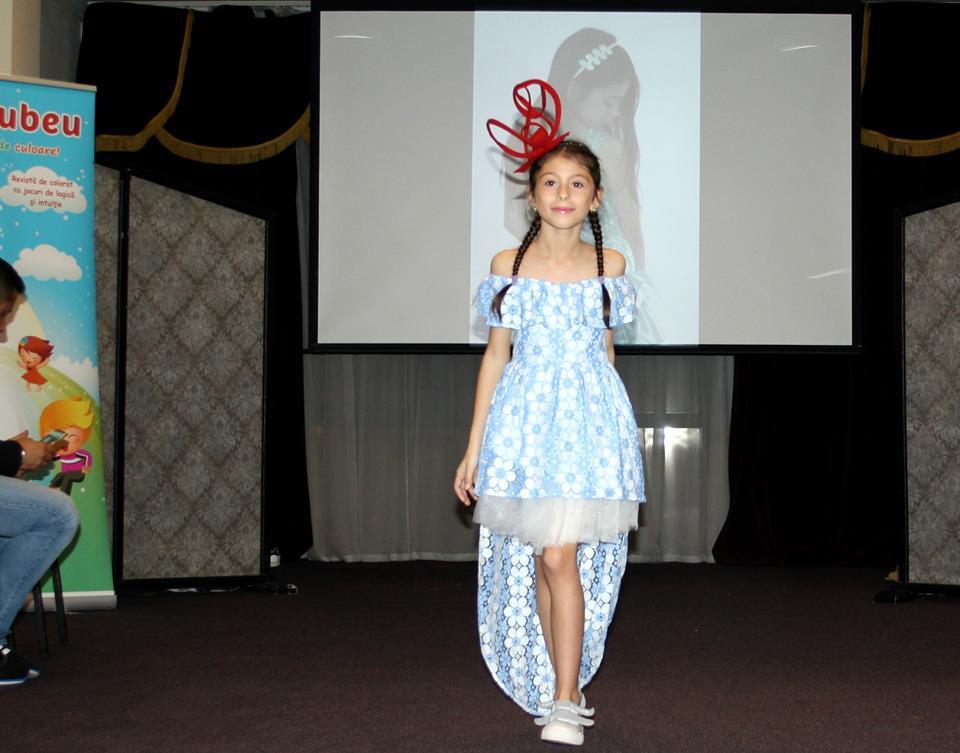 Izabela Ilie, talent și eleganță la doar 9 ani Isabela prezentare