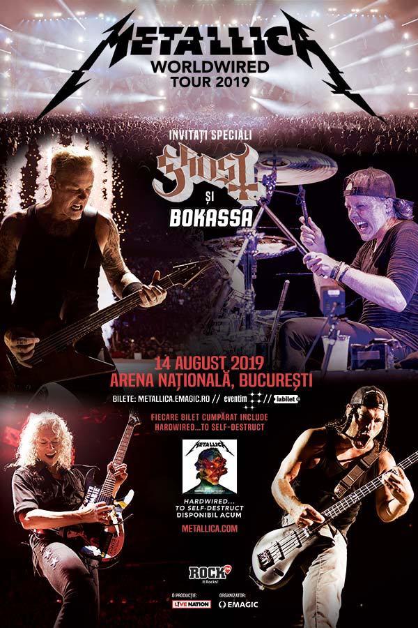 Metallica vine în România pe Arena Națională Metallica 1