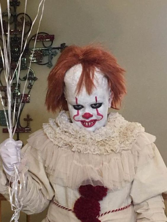 Top 5 - cele mai sinistre costumații și machiaje de Halloween Clown