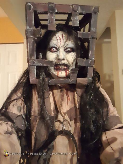 Top 5 - cele mai sinistre costumații și machiaje de Halloween Costum Halloween 4