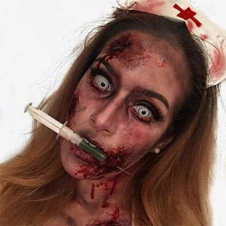 Top 5 - cele mai sinistre costumații și machiaje de Halloween Locul 3