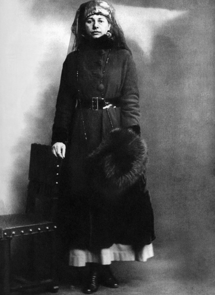 Mata Hari, povestea faimoasei curtezane de la a cărei execuție se împlinesc 101 ani (VI) Mata Hari cand a fost arestata