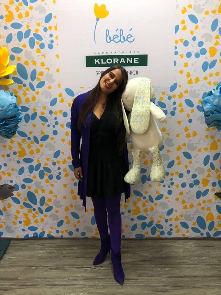 Nouria Nouri  Concurs Klorane Bébé - produse de îngrijire pentru copii Nouria Nouri Klorane Bebe