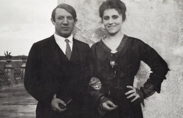 Povestea geniului Pablo Picasso de la a cărui naștere se împlinesc 137 de ani Pablo Picasso   i Olga Khokhlova