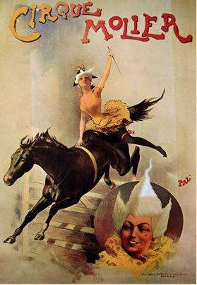 Mata Hari, povestea faimoasei curtezane de la a cărei execuție se împlinesc 101 ani (III) Poster Cirque
