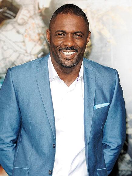 """Actorul Idris Elba a fost desemnat """"Cel mai sexy bărbat din lume"""" Idris Elba Sexiest Man Alive"""