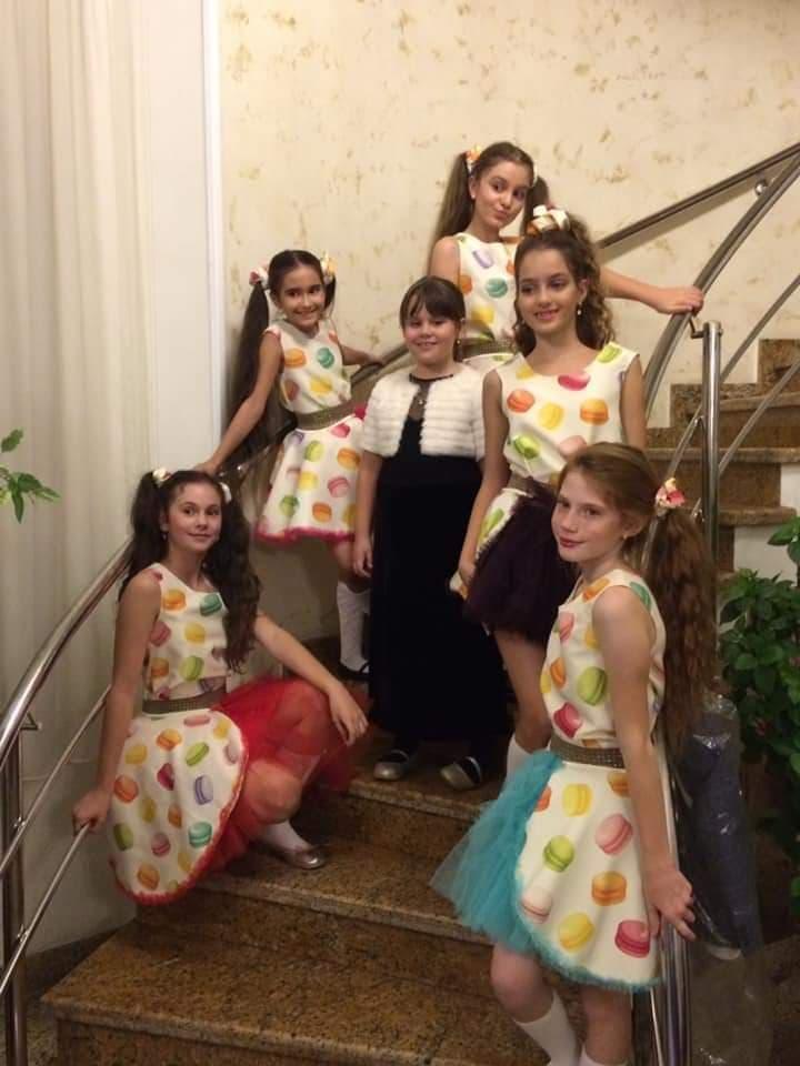Ambra Design by Cristina Iacomi prezintă colecția nouă la Kids Fashion Week România My macarons