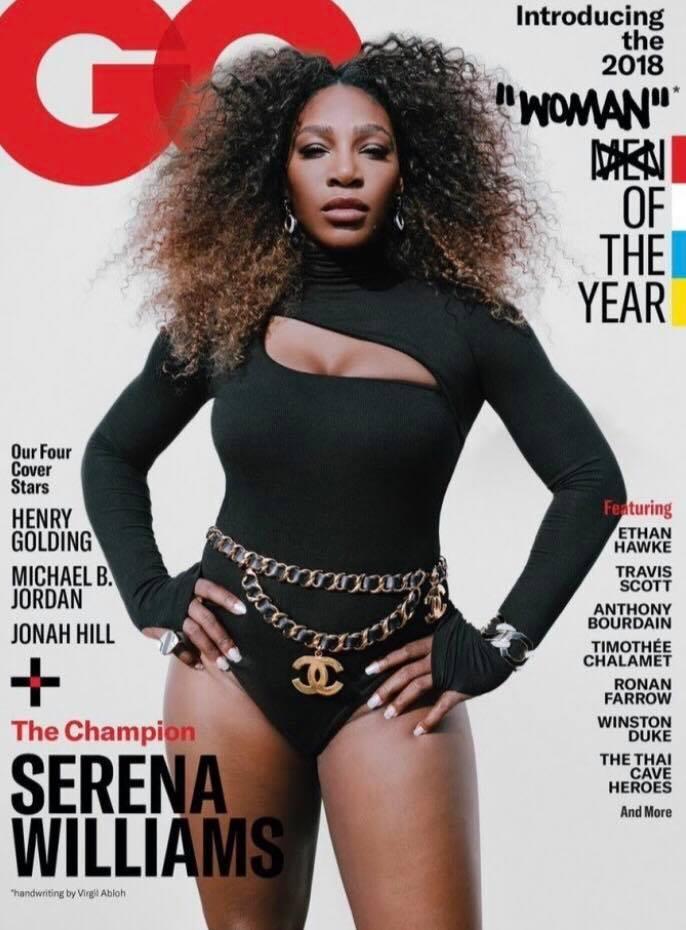 Serena Williams a fost desemnată femeia anului Serana Williams GQ