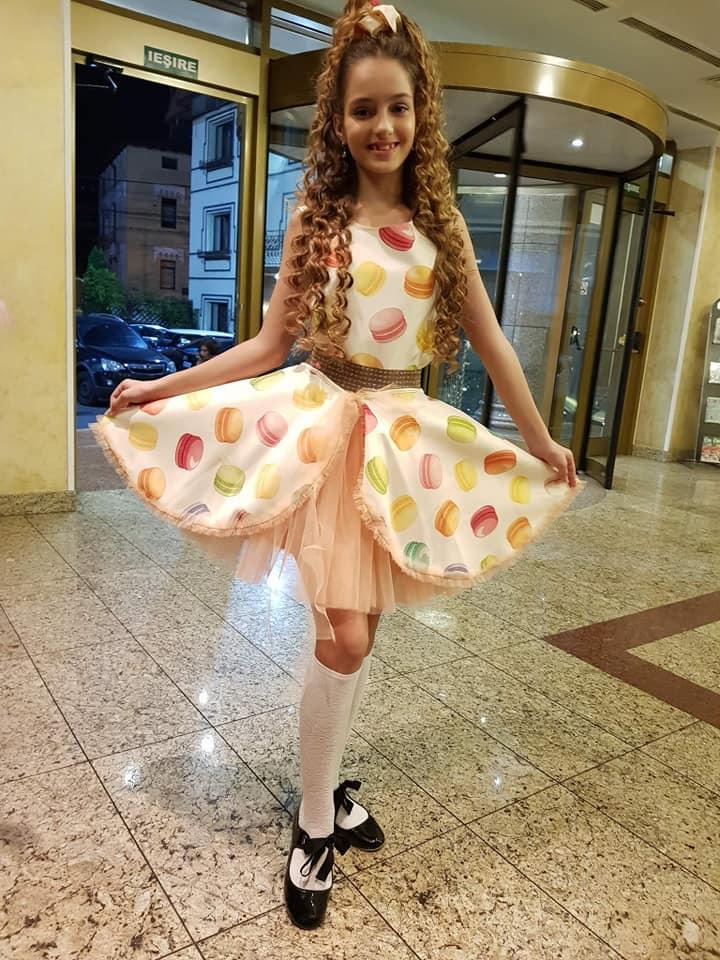 Ambra Design by Cristina Iacomi prezintă colecția nouă la Kids Fashion Week România Theodora Pufulescu