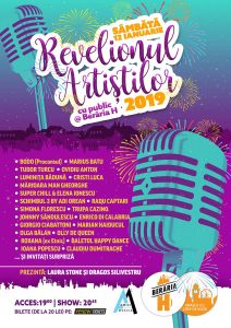 Revelionul Artiștilor 2019 cu public la Berăria H ! bunn