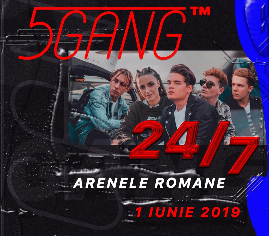 Cel de-al doilea concert 5GANG de la Arene
