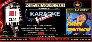 Cânți azi, 11 aprilie, la KARAOKE în FOREVER YOUNG, singurul club dedicat fetelor și câștigi o vacanță la ROMA! karaoke 5
