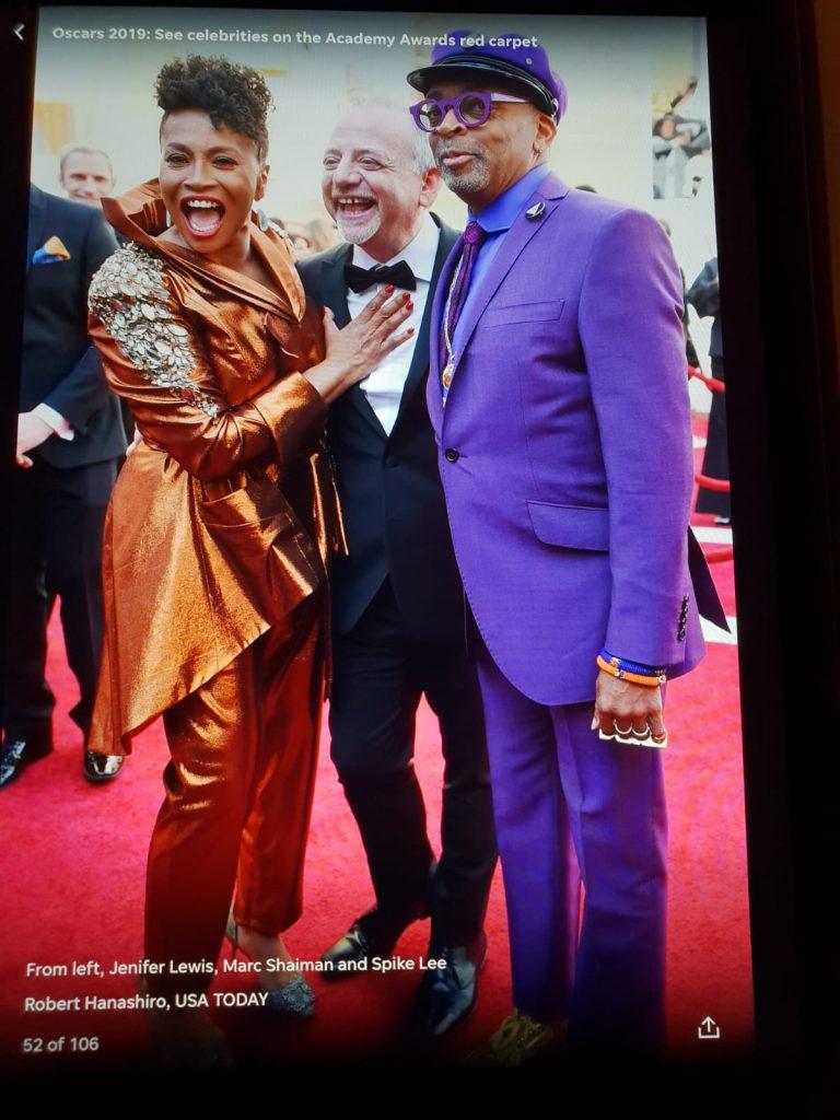 Un câștigător la Oscar, îmbrăcat de un brand românesc Marc Shaiman Spike Lee