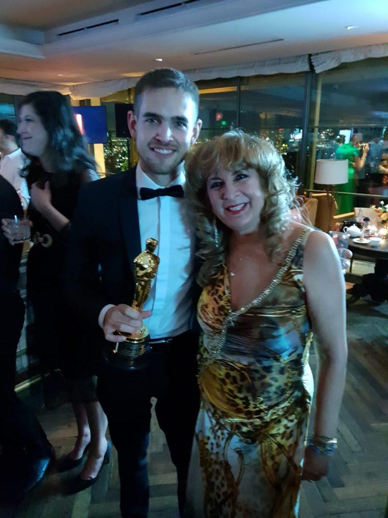 Un câștigător la Oscar, îmbrăcat de un brand românesc Nora Seroussi 2