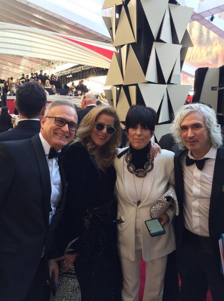Un câștigător la Oscar, îmbrăcat de un brand românesc Ray Costa Diane Warren