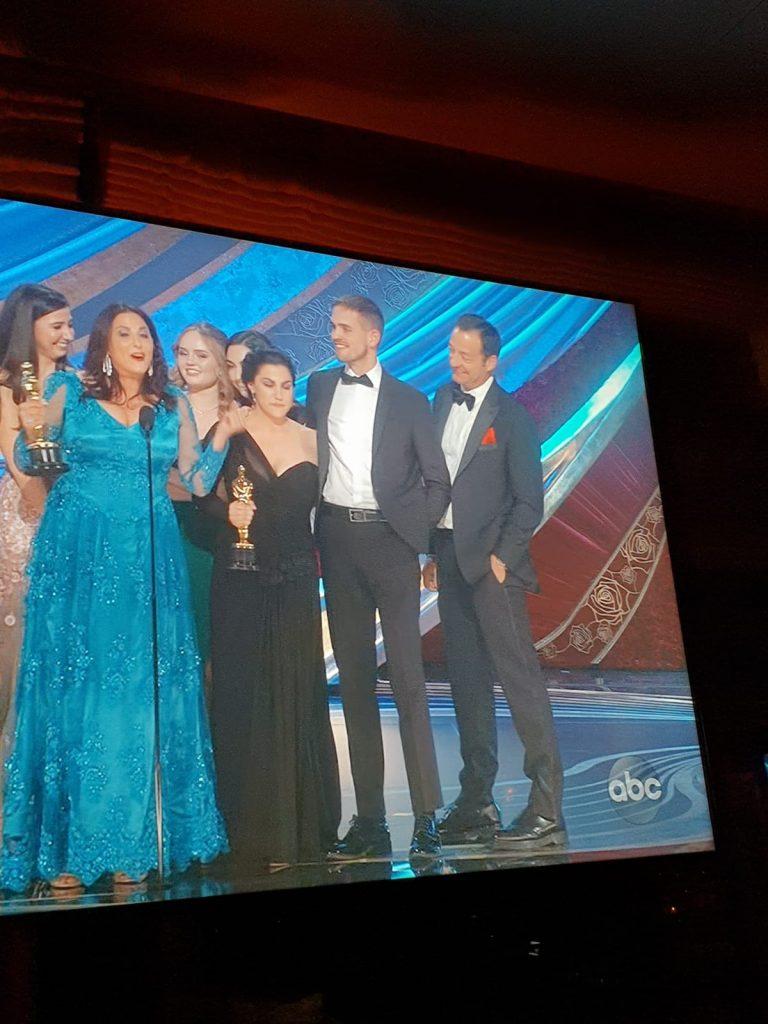 Un câștigător la Oscar, îmbrăcat de un brand românesc Sam Davis