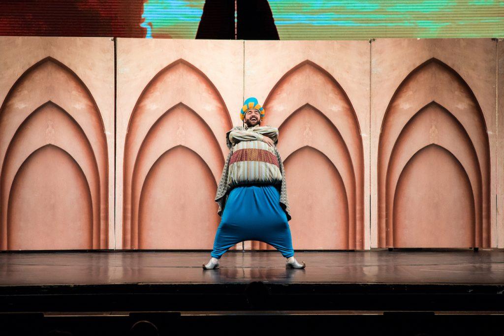 """Primăvara cu Mozart la Opera Comică pentru Copii:  ,,Răpirea din Serai"""" și ,,Viața lui Mozart"""" rapirea din serai 1"""